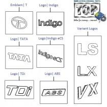Logo Kit| 1.4 TDI| Indigo eCS