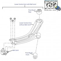 Lower Control Arm| Front| Vista