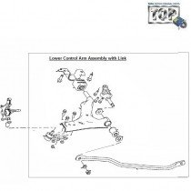 Lower Arm + Link Assembly| Indica V2