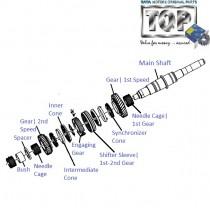 Mani Shaft & 1st 2nd Speed Gear| 2.2 DiCOR| Safari(Pre-2008)| Safari (2008+)