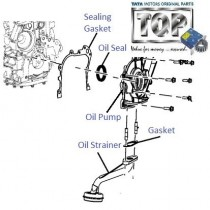 Oil Pump & Strainer| 2.2 VariCOR| Safari Storme