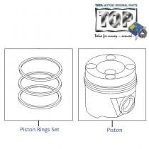 Piston & Rings| 1.3 QJet| Manza