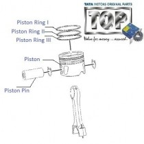 Piston & Rings|  2.2 VariCOR| Safari Storme