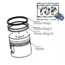 Piston & Rings| 3.0L DiCOR| Safari