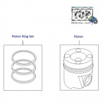 Piston and Rings| 1.3 QJet 90PS| Vista D90