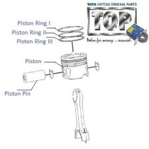 Piston & Rings| 1.4 CR4| Indigo CS