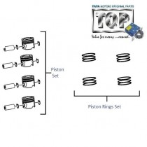 Piston & Rings| 2.2 DiCOR| Xenon XT