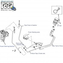 Power Steering System| 2.2 DiCOR| Safari| Safari (2008+)