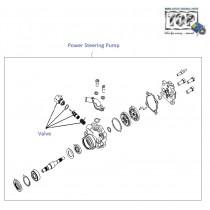 Power Steering Pump  1.4 Safire  Vista Sedan Class
