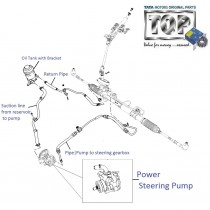 Power Steering Pump| 1.2 Safire| Vista