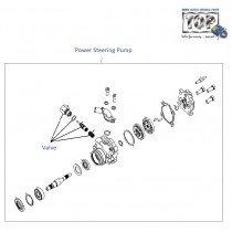 Power Steering Pump| 1.4 Safire| Vista Sedan Class