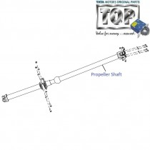 Propeller Shaft| 4x2| 2.2 DICOR| Aria