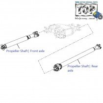 Propeller Shaft| 4x4| Safari (2008+)