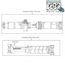 Propeller Shaft| 4x4| Xenon XT