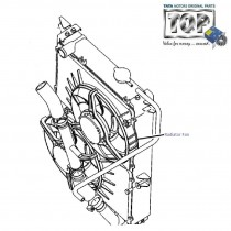 Radiator Fan| 3.0L DiCOR| Safari
