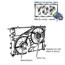 Radiator Fan| 1.3 QJet| Manza| Vista