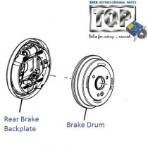 Rear Brake & Drum| 2.2 DICOR| Safari| Safari (2008+)