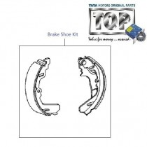 Brake Shoe Kit| Rear| Indica Xeta