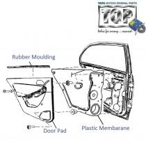 Door Pad| Rear-LH| Vista D90