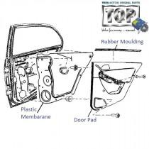 Door Pad| Rear-RH| Vista Tech