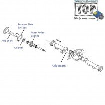 Rear Axle| 3.0L DICOR| Safari