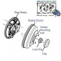 Rear Brake| 1.2 Safire| Vista