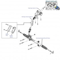 Steering Box & Column|  2.2 VariCOR| Safari Storme