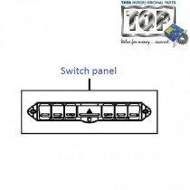 Switch panel  Dashboard  1.4 TDI  Vista