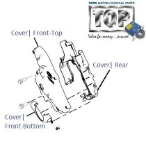 Timing Belt Cover| 1.4 DICOR| Indica V2
