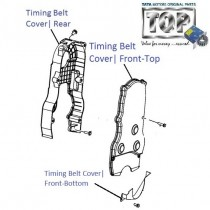 Timing Belt Cover| 1.2 Petrol| Indica V2