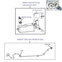 Wiper Fluid Tank & Pump| Nano