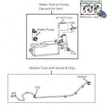 Wiper Fluid Tank & Pump| Nano