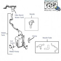 Wiper Fluid Tank & Pump| Manza| Manza Club Class