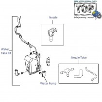 Wiper Fluid Tank & Pump| Vista| Vista Sedan Class