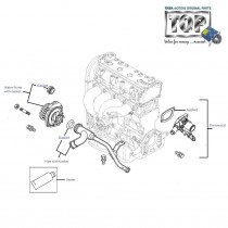 Water Pump & Thermostat| 1.2| 1.4| Safire| Vista