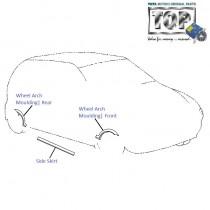 Wheel Arch Moulding| Indica V2