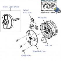 Wheel Rim & Cap| Nano