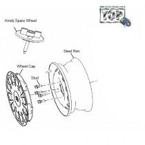 Wheel Rim & Cap| 1.4 NA Diesel |Indica V1