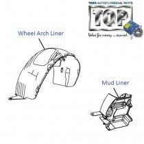 Wheel Arch Cover| Front| Vista
