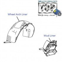 Wheel Arch Cover| Front| Vista Sedan Class