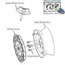 Steel Wheel Rim| 1.4 Turbo| Indica V2
