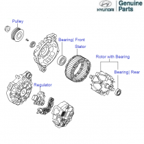 Hyundai Santa Fe Ac  pressor on hyundai santa fe serpentine belt diagram