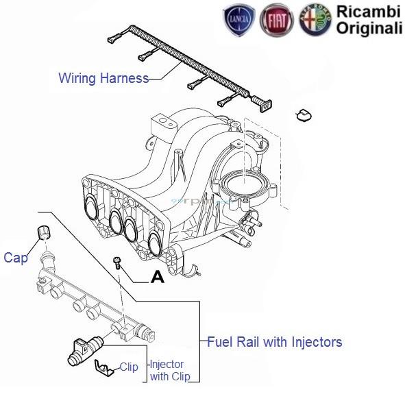 FIAT Punto 1 2 Petrol: Injectors