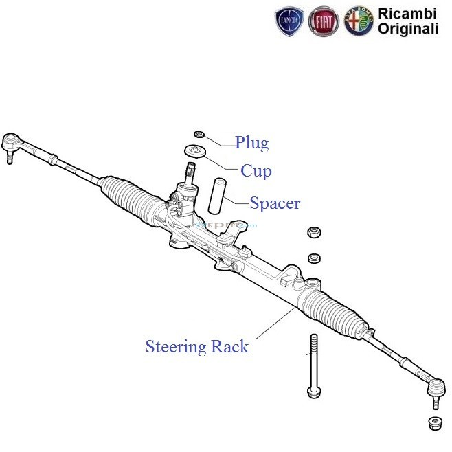 Fiat Punto Steering Rack Amp Pinion Assembly