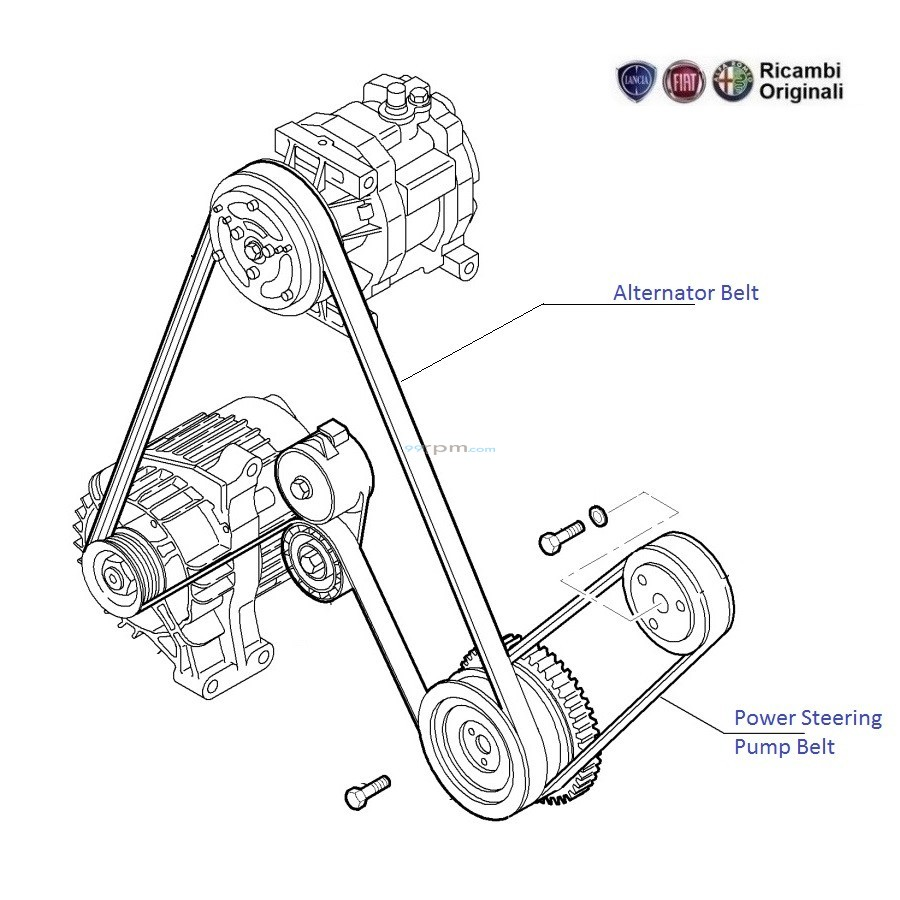 fiat punto alternator wiring diagram