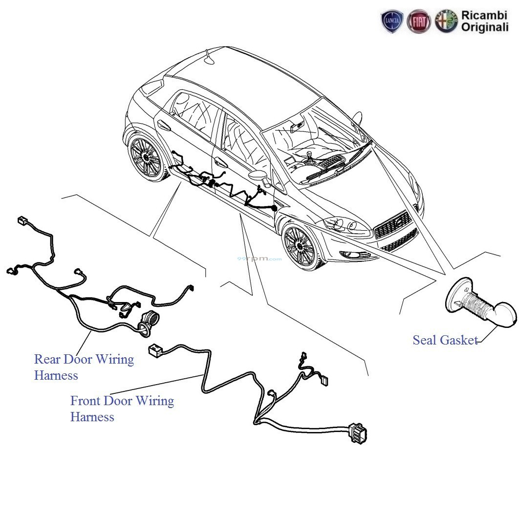 door_wiring_harness fiat punto doors wiring harness fiat punto wiper motor wiring diagram at webbmarketing.co