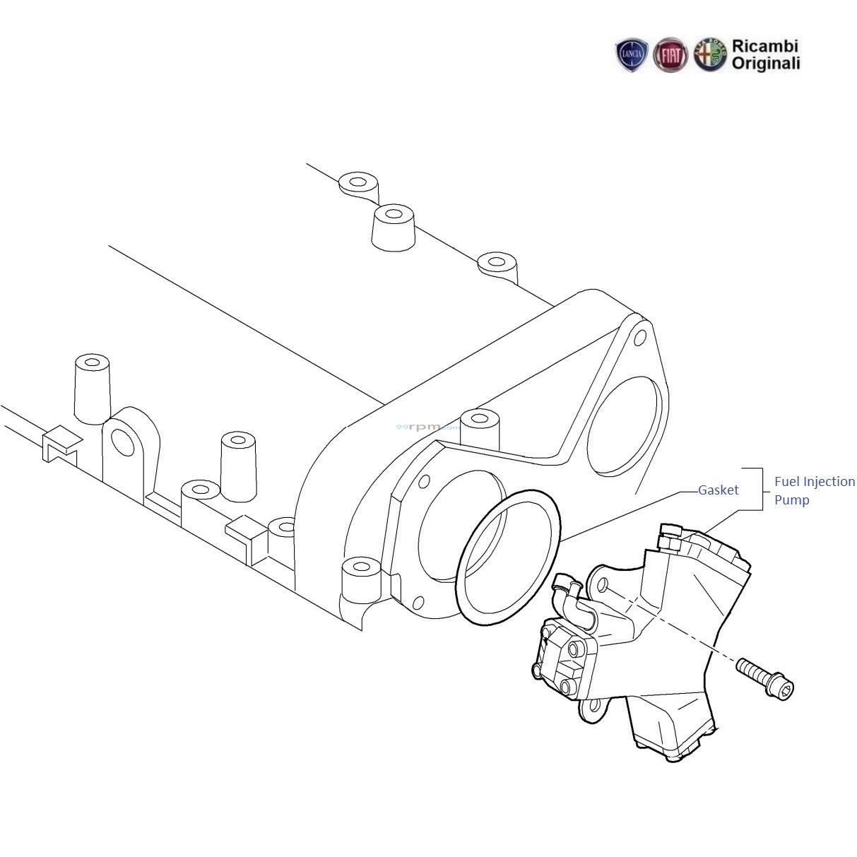 fiat fuel pump diagram wiring library  fiat punto 1 3 mjd diesel fuel injection pump
