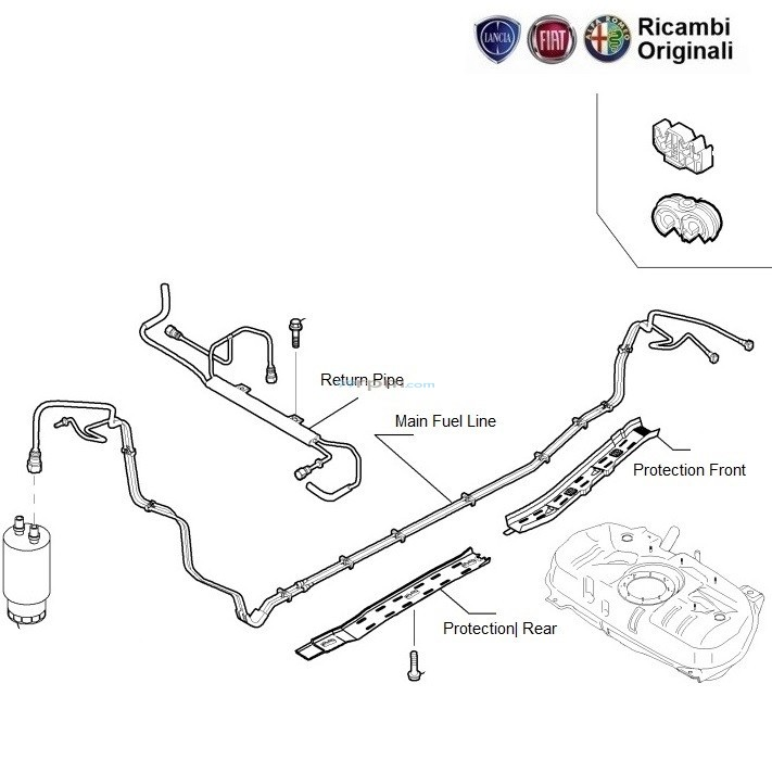 Tremendous Fuel Pipeline Fiat Grande Punto 1 3 Multijet Diesel 75Hp Wiring Cloud Aboleophagdienstapotheekhoekschewaardnl