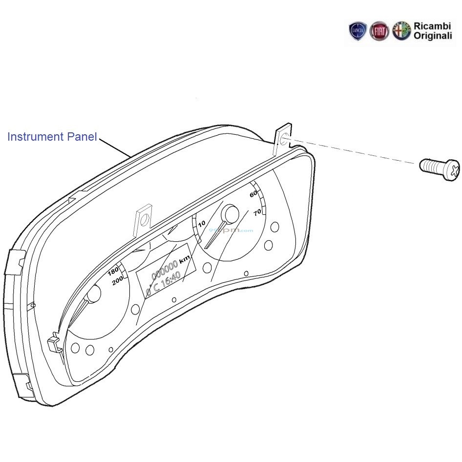 Fiat Linea  Instrument Panel