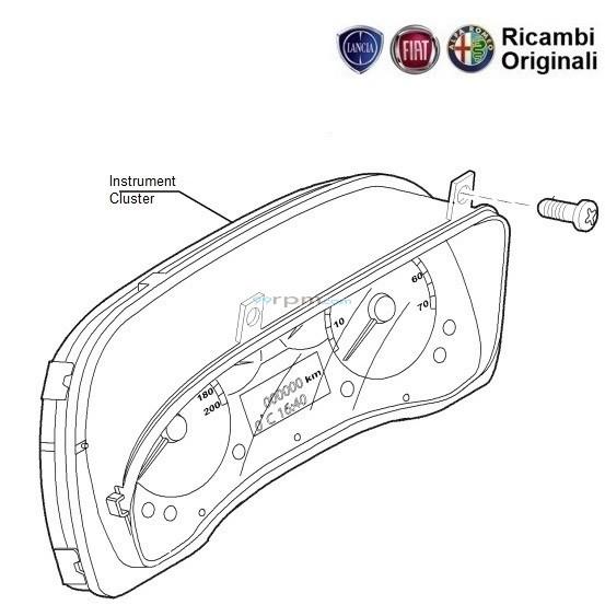 Fiat Grande Punto: Speedometer Instrument Cluster
